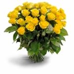 30 Adet Sarı Gül Buketi