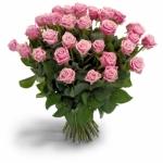 Pembe Gül Çiçek Buketi (30 Adet)
