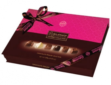 Signature Spesiyal Çikolata –  Pembe Kutu (256 Gr)