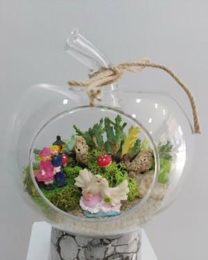 Teraryum Aşk Bahçesi İzmir Çiçek