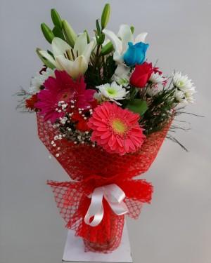 Çiçek Buketi İzmir Çiçek